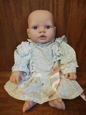 """2007 Cititoy Newborn Baby Doll Soft Vinyl Body 13"""""""
