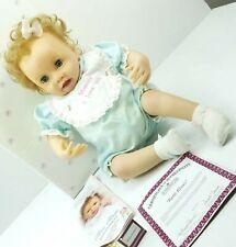 Ashton Drake Galleries Katie Kisses Reborn Baby Doll So Truly Real Works Hair