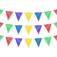 Guirlande Fanions Drapeau Triangle Bannière Décoration Fête Mariage Party Garden