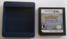 Authentic Pokemon: SoulSilver Version (Nintendo DS, 2010) Game Cartridge Only NR