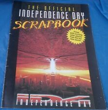 1996 The Official Independence Day Movie Scrapbook By Parachute Press ID4 Book