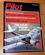 Pilot 1985 August Cessna 152,Ag-Flying
