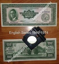 200 Pesos English Series (1949) Commemorative Peso Bill