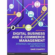 Digital Business and E-Commerce Management by Dave Chaffey (Paperback, 2014)