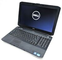 "Dell Latitude E5530 15.6"" Laptop i3-3110M 2.4GHz 4GB RAM 250GB HDD No OS HDSMNX1"