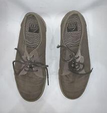 Reef Ridge RF003314 Men's Size 8 Tan Canvas Casual Athletic Shoes