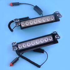 8 LED 3 In 1 Car Dash Emergency Strobe Flash Light Bar Warning Traffic Lamp ABS