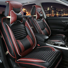PU Leather Car Seat Cover Cushion Front & Rear Set Fit For CRV Civic 5Seats.Kit