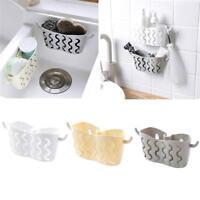 Sink Shelf Soap Sponge Drain Rack Kitchen Storage Suction Cup Bathroom Holder