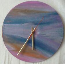 record wall clocks..Abstract art..sprayed paint art....landscape..retro..funky.