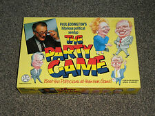 THE PARTY GAME : PAUL EDDINGTON POLITIC - NEW SEALED CONTENTS (FREE UK P&P)
