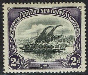 PAPUA 1901 LAKATOI BRITISH NEW GUINEA 2D HORIZONTAL WMK