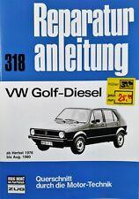 VW Volkswagen Golf-Diesel - Motor Technik  Werkstatt Handbuch  repair manual