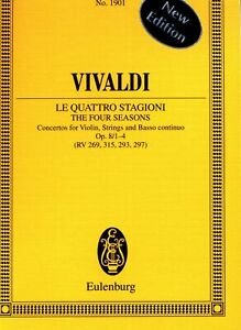 The Four Seasons, Op. 8, Nos. 1-4: Concertos for Violin, Strings, Basso Continuo