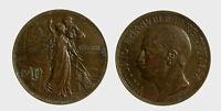 s535_176) Vittorio Emanuele III (1900-1943) 10 Cent Cinquantenario 1911
