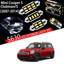 18pcs Xenon 5630 LED Interior Dome Light Kit Fit MINI Cooper S Clubman 2007-2014