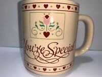 Vintage Paula CO Coffee Mug Tea Cup Your Special Love 1988 Hearts A6-53