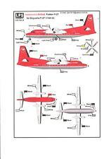 LPS Decals 1/144 FOKKER F-27 NORTHWEST AIRLINK