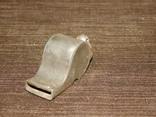 VINTAGE GERMANY SIGNAL POLICE METAL WHISTLE