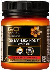 GO Healthy GO Manuka Honey UMF 20+ (MGO 820+ NPA 20+) 250g