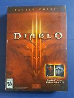 Diablo III Battle Chest (PC, 2016) NEW Sealed