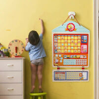 KIDS WOODEN MAGNETIC REWARD ACTIVITY RESPONSIBILITY CHART SCHEDULE