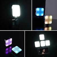 1* Mini LED Fill Light Color LED Video Light Lamp for Smartphone DSLR SLR Camera