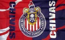 Bandera Chivas de Guadalajara Flag 3'x5' Pies/Feet Liga MX Futbol Soccer