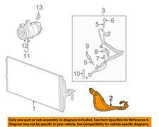 Chevrolet GM OEM AC A/C Air Conditioner-Compressor & Condenser Hose 23264898