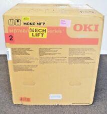 Okidata MB760+ Wireless Monochrome Laser Copier Printer Scan Fax 49 ppm - NEW!