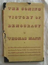 The Coming Victory Of Democracy Theodore Mann Alfred Knopf 1938 2nd Printing