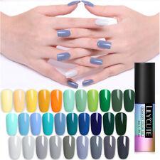 41Colors UV Color Gel Nail Polish Soak Off Gel White Black Varnish 5ml LILYCUTE
