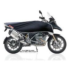 Adventure Dual-Sport motorcycle bike cover Kit - travel size black / silver