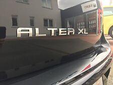 Original SEAT ALTEA XL silber/chrom  Schriftzug Aufkleber Decal Emblem Logo