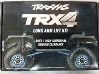 Traxxas 8140 TRX-4 Complete Long Arm Lift Kit Black Brand New!!