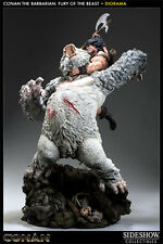 Sideshow Conan the Barbarian Fury of the Beast Polystone Diorama Statue MISB #75