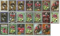 Mike Davis 49ers South Carolina 20 card 2015 Topps brands RC lot-all different