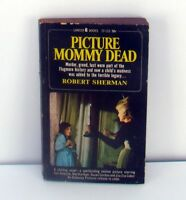 Picture Mommy Dead Robert Sherman Vintage 1966 Pb Book Zsa Zsa Gabor