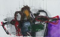 "24 D Sheila DIAZ Garcia 19 x 31 CUBAN FINE ART 19""x31"" Original  Painting Cuba"