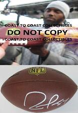 Randy Moss Minnesota Vikings, Patriots signed autographed, Duke football, proof