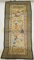 Chinese Silk Embroidery Embroidered Wall Hanging Floral