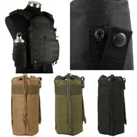 Outdoor Molle Water Bottle Bags Military Hiking Belt Holder Hiking Storage Pouch