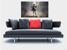 """NIER AUTOMATA BORDERLESS MOSAIC TILE WALL POSTER 35"""" x 23"""" ROLE COSPLAY GAMER N2"""