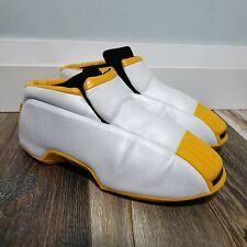 RARE 2001 Adidas Kobe Two 'Lakers' White/Yellow | Size 10