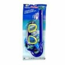 Intermediate swimming Goggles Snorkel set with earplug - BLUE