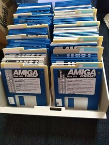 Amiga format disks over 80 from smoke and pet free home