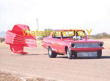"Gene Snow ""Rambunctious"" 1966 Dodge Dart Injected NITRO Chute Funny Car PHOTO!"
