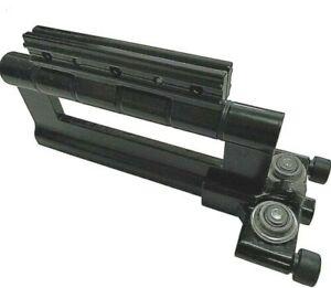 Bottom Roller Bi Folding Door Black Smart Visofold 1000 Hinge Bifolding fold