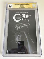 Outcast #1 | CGC SS 9.8 Signed by Robert Kirkman | Variant | Image Comics 02