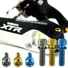 2  Titanium M6 x 18mm Specially made for 2014 Shimano Crank pinch bolts